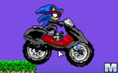 Sonic Ninja Motobike