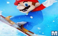 Mario Ice Skating