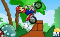 Mario Moto Stunts