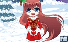 Xmas Heart Dress Up