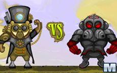 Steampunk Player Punk