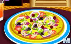 Delicious Pizza Decoration
