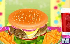 Big Burger Cooking