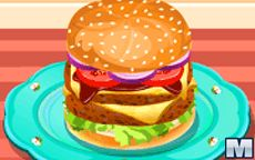 Burguer For A Hungry Kid