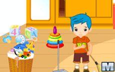 Children's Room Cleanup - Pulire la casa