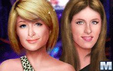 Dazzling Hilton Sisters