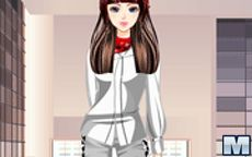 Fashion Store Model Dress Up