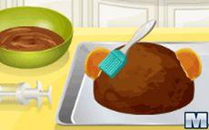 Cucina con Sara: Torta con Forma di Scimmia