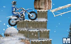 Winter Bike Stunts - Motocross sulla neve