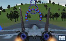 3D Flight Sim: Rings
