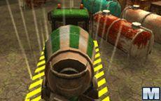 3D Parking Radioactive Rumble