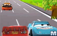 Lightning McQueen On Road