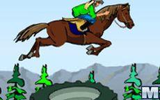 Lisa Mounting Horse
