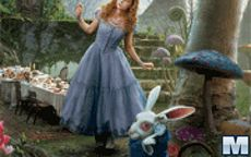 Alice in wonderland Hidden Letters
