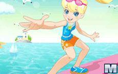 La Bambola Polly Pocket con Vestiti da Spiaggia