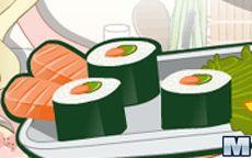 Mia Cooking Sushi