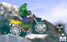 Hulk Ride Snow
