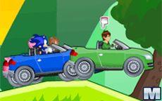 Sonic Vs Ben 10 Cars