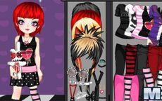 Emo Sweetheart Dress-Up