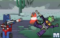 Transformers: Prime VS the Zombiecons