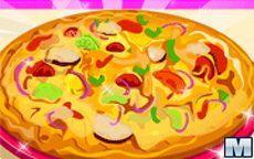 Cucina la pizza Ratatouille