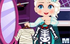Elsa Halloween Slacking