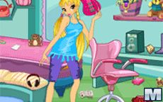 Winx Club Room Cleaning