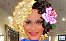Violetta on Hairstyle