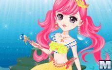 Tender Mermaid Princess
