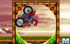 Mario ATV in Sonic Land