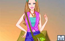 Barbie Camping Princess Dress Up