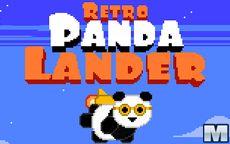 Retro Panda Lander