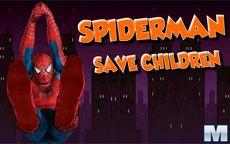 Spiderman Save Children