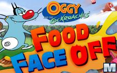 Oggy and the Cockroaches Food Face Off