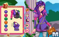 Descendants Mal Dress Up