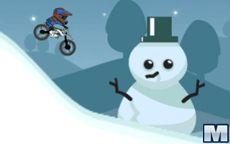Moto Trial Sulla Neve