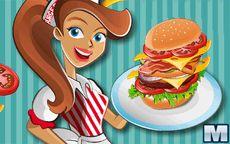 Lavora in un Negozio di Hamburger