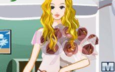 Flower Store Girl Dress Up