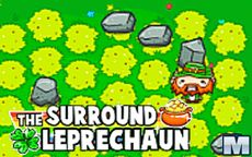 Surround the Leprechaun