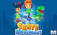 Hooligans con lo skateboard