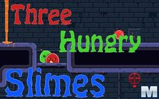 Three Hungry Slimes