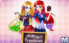 Principesse Manga della Disney