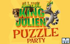 All Hail King Julien Puzzle Party