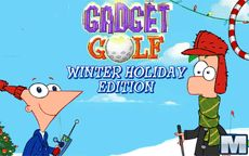 Phineas and Ferb Gadget Golf Winter Holiday Edition