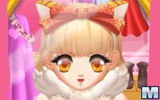 Cat girl fashion dressup