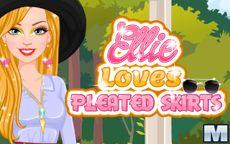 Ellie Loves Pleated Skirts
