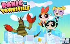 Powerpuff Girls Panic in Townsville