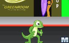 Skateboarding Gecko