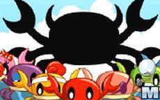 Crabs Party Battle Pong