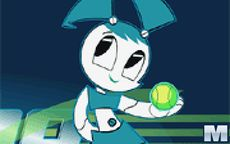 Teenage Robot Techno Tennis